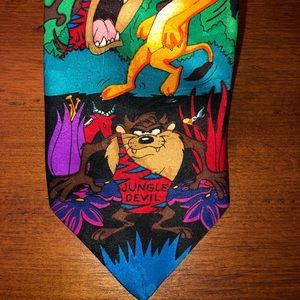 "Looney Tunes ""Mania"" Neck Tie"